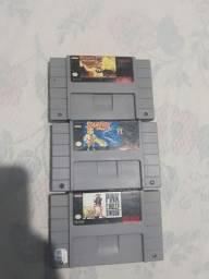 Fitas originais de super Nintendo. Leia