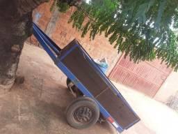 Troco carreta reboque em carro bo preferência uno pneus novos