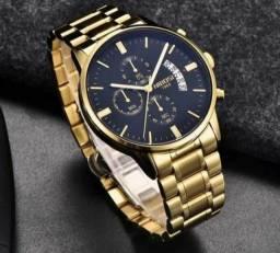 Relógio Masculino Nibosi De Luxo Original