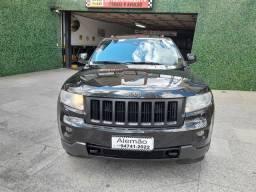 Grand cherrokee 3.6 limited automatica preta 2011 teto solar