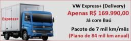 Título do anúncio: Caminhão Express+ com baú 2021 (Apenas R$ 169.990,00 e c/ CashBack) Leia o anúncio!