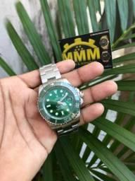 Relógio rolex(novo) com entrega grátis e garantia de 1 ano