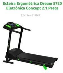 Entrego e Parcelo Esteira Eletrônica Concept Dream Fitness.