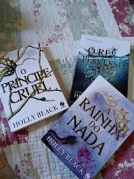 Trilogia Povo do Ar, o principe cruel, o rei perverso e a rainha do nada seminovos