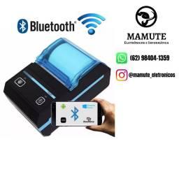 Mini Impressora Térmica Bluetooth Kp 1020 Portátil Celular