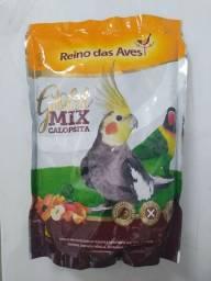Gold Mix Calopsita - Reino das Aves