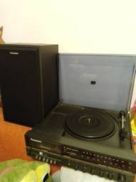Rádio toca disco Panasonic