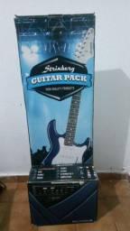 Guitarra elétrica Strinberg - Kit completo