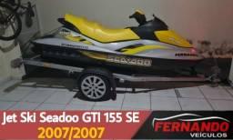 Jet Ski Seadoo GTI 155 SE Ano 2007
