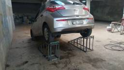 Rampas para lava-jato e estéticas automotiva