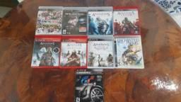 Jogos Playstation 3 e 4