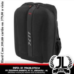 Mochila Hard Case X11 Moto Impermeável Bolsa Mala Notebook Laptop JL Parts