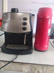 Cafeteira Mondial expresso + garrafa termica invicto