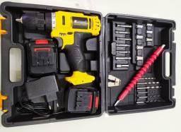 Parafusadeira 18v 2 Baterias Promoção