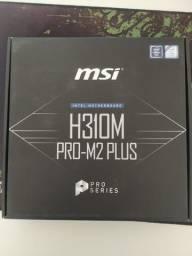 Placa-mãe MSI H310M Pro-M2 Plus LGA 1151