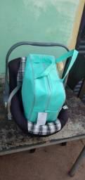 Cadeira de bb conforto e bolsa