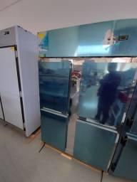Freezer congelados 4 portas froos free pronta entrega - felário