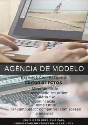 Editor de fotos home office