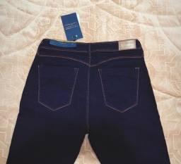 Título do anúncio: Calça Jeans azul Marinho Marca Acostamento