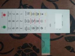 Membrana Teclado Forno Microondas Panasonic Nnst369 Nnst 369