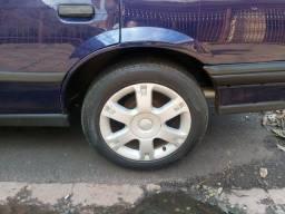 Troco aro 16 com pneus 70% por aro 15