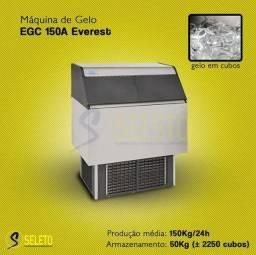 Máquina de Gelo Everest - EGC 150A Com Deposito de 50 KG