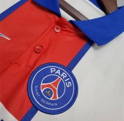 Camisa Oficial Tailandesa PSG Branca 20/21