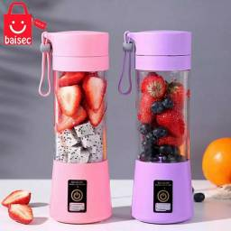 Mini Liquidificador Portátil Shake Take Juice Cup 4 Lâminas Recarregável Oferta !