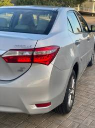Corolla XEI 2017 único dono 4 pneus zeros!