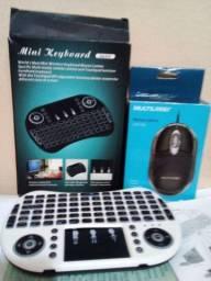 Mini teclado 1 mouse.