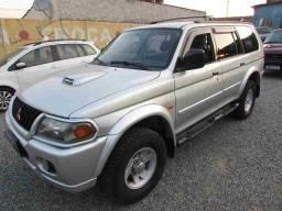 Mitsubishi pajero sport 4x4 se 2.8 turbo diesel aut completa ano 2002
