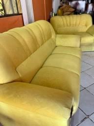 Título do anúncio: Conjunto de sofá 2 e 3 lugares