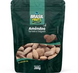 Amêndoa Torrada E Salgada - 200g - Brasil Frutt