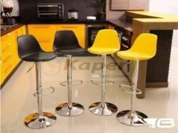 Banquetas cromada giratória Eames ( nova ) promoção