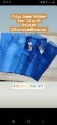 Título do anúncio: Calça Jeans com Laycra Vislaine
