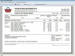Programa controle de estoque e pedido de vendas v1.0
