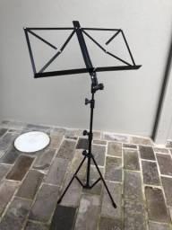 Estante pedestal para partituras de músicas- Visão Pedestais
