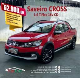 VOLKSWAGEN SAVEIRO 2016/2017 1.6 CROSS CD 16V FLEX 2P MANUAL - 2017