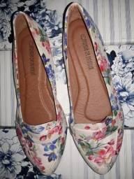 7d8452b6d Sapatilha Mocassim Tendência Floral Confort Top Nº35