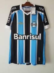 Camisa Umbro Grêmio 2015 Game  7 Luan 872886836c93a