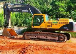 Escavadeira volvo ec460
