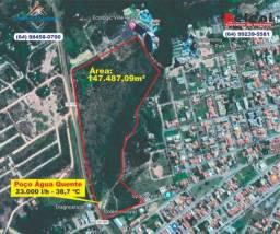 Atenção investidores: Vendo área com 147.487,09 m² em Caldas Novas - GO