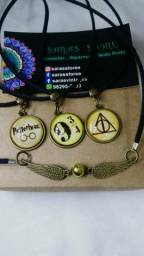 Kit de colares Harry Potter comprar usado  Belém