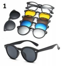 Oculos Clip Magnético Novo Aceito Cartão 3 modelos diferentes Aceito Cartão Armação De Ócu