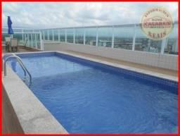 Apartamento com 2 dormitórios à venda, 86 m² por R$ 350.000,00 - Vila Guilhermina - Praia