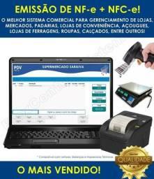 Sistema PDV FlexControl Lojas Mercados Padarias Conveniências Mei NFe + NFCe