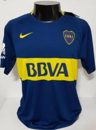 Camiseta de time boca juniors
