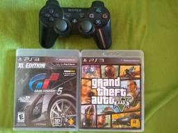 Vendo 1 controle ps3 original 2 jogos midia fisicas boms ja e menor valor para vender logo
