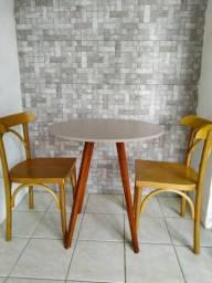 Mesa de 2 lugares várias cores