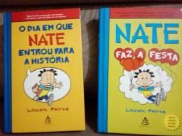 2 livros NATE duvida fale no chat.